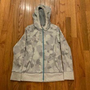 Girls camouflage sweatshirt